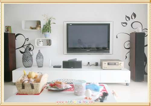 电视柜最新款图样图红色