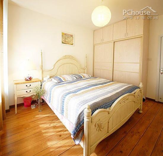 小户型卧室设计-自己做设计 10万装修80平二居室