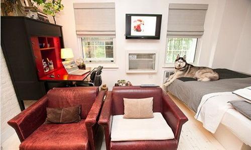房屋装修效果图大全 北欧风格 颇具中式风格的书桌,明亮的