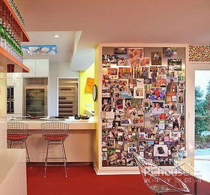 几种照片墙创意布置装饰