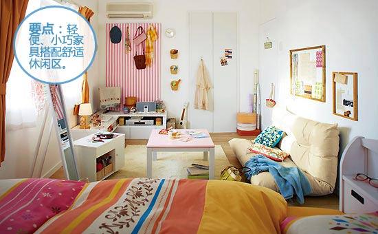 轻便易折叠 1千预算搞定实用租房装饰图片