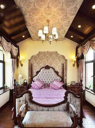 酷似城堡庄园 200平美式古典小别墅