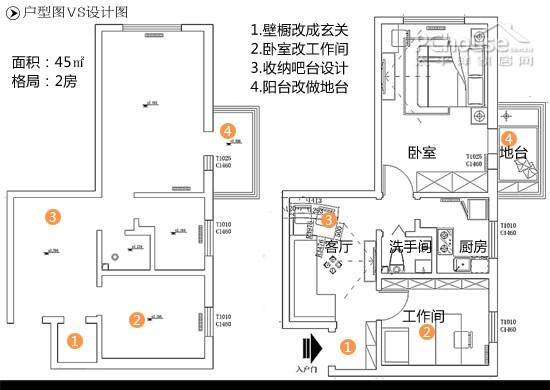 北京二手房装修 乾图设计