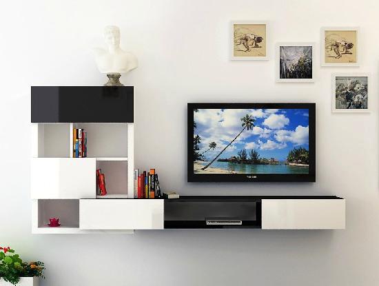 客厅电视墙易搭配 12款简约电视柜推荐