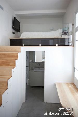 白色控大爱 开放式公寓小单间变身记 - 装修攻略