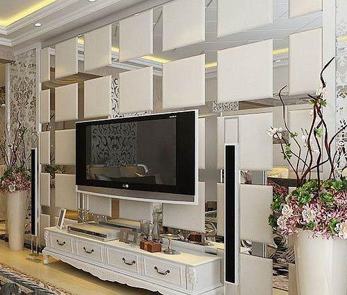 大气质感的欧式电视墙 灵感就是这样来的图片