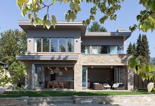 加拿大獨棟別墅設計