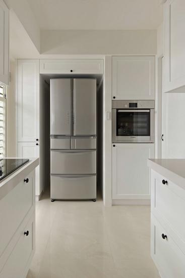 厨房冰箱高柜效果图