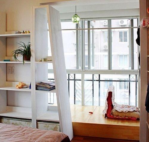 梯形厨房装修效果图
