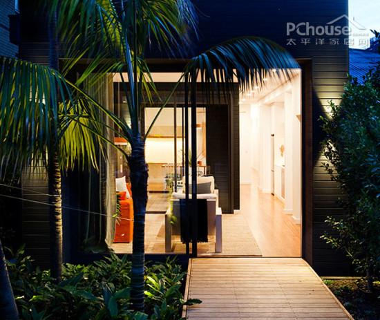 创意小别墅设计 春天里的现代简约风
