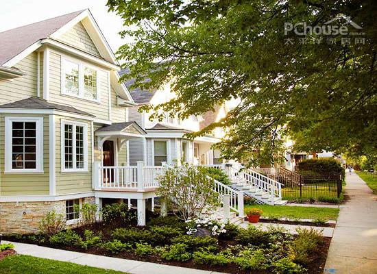 设计重点:块状绿地       推荐理由:这是一个拥有地下室的别墅