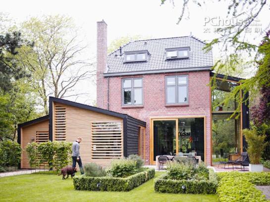 欧式房屋大檐造型