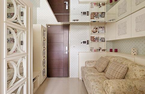 公寓玄关设计效果图
