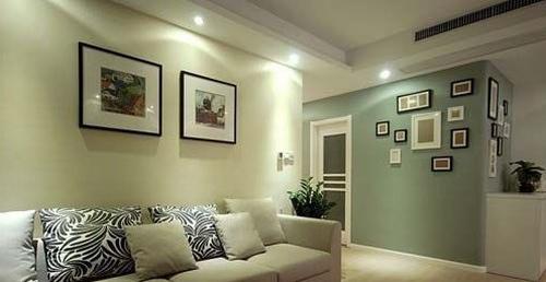 小户型客厅 教你装修超赞照片墙