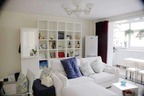 40平米小户型 一室一厅迷你家明艳动人