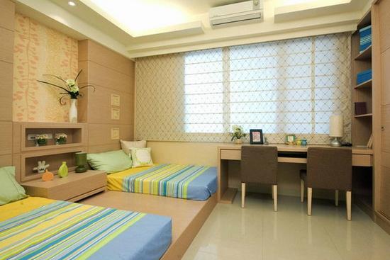 儿童卧室榻榻米装修效果图-实用性超强必看 卧室榻榻米装修效果图
