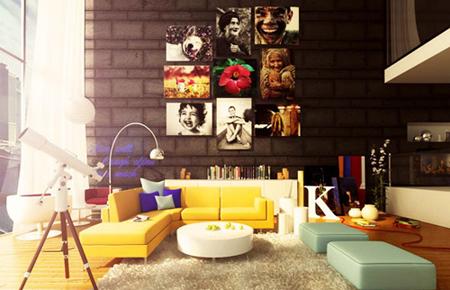 8款照片墙设计