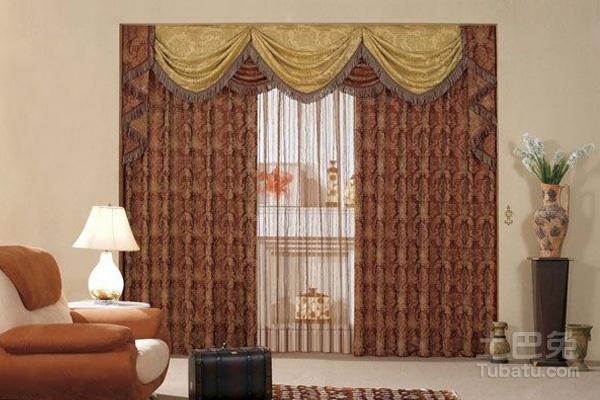 布的作用,窗帘可以根据个人设计的客厅或者房间选择是用冷色调还是暖