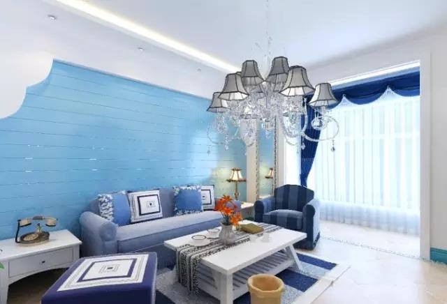 客厅窗帘的颜色最好从沙发花纹中选取