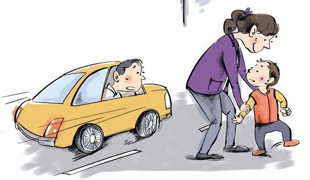 熊孩子这个词算是火了好几年了,今天不说熊孩子,来说说熊爸妈。行人是不能上高速公路的,这是常识,但是,竟有一对父母,带着才一周岁多的孩子上了高速公路,还走来又走去,川流不息的车辆从孩子身边开过,好多人都吓着了。 3月26日下午4时许,有司机向高速交警报警:G15沈海高速七都附近,有个小孩在高速公路上走路。 当民警到达现场后,看见了本应在公园草坪上才会看到的一幕:一个30来岁的女子站在一个小男孩身后,双手拉着小男孩的手,让小男孩踉踉跄跄地朝前走,完全不顾身边飞驰的车流。高速公路边坡上,一个拿着锄头的男子还不