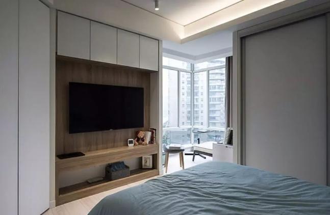 衣柜电视柜组合让你的房间更大 简洁实用又漂亮