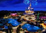 上海迪士尼乐园奇幻童话城堡建造启动
