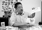 7旬老人带明信片行走中国 梦想盖上每个城市邮戳