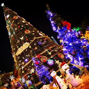 圣诞雪夜嘉年华,一起去杭州湾海皮岛乐园过圣诞
