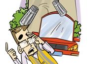 不锈钢保温杯从天而降砸伤人 警方将进行指纹比对