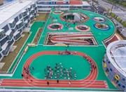 潮不潮!浙江一家幼儿园屋顶建跑道