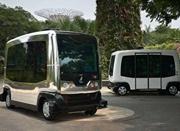 劳动力短缺 新加坡将试验无人驾驶公交车