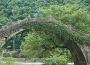 白水跨虹桥通南北