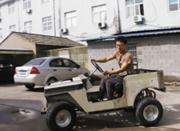 爱上造车的王永生近日造出了他的第三辆汽车