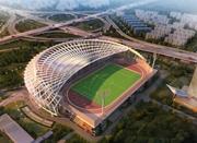 上海建首座屋顶体育场 跑道足球场位于13米高空