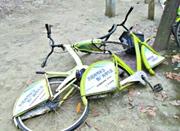 宁波300多辆公共自行车流落街头 八成是因租还不当
