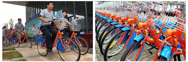 宁波公共自行车总租借人次破1亿