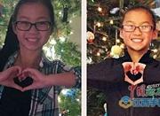 相隔两个时区 圣诞礼物使分离10年双胞胎姐妹相认