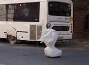 俄机器人一周内两度自主逃跑 或将被拆解