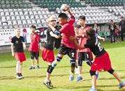 鄞州出了支手球世界冠军队 宁波小子丹麦上演手球