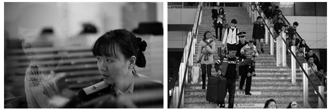 宁波站候车室24小时开放晚上数千旅客候车