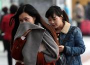 冷空气将假春天打回原形 明天宁波山区可能有雪