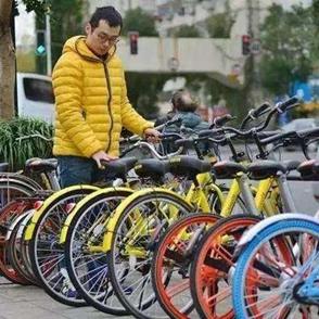 余姚街头共享单车种类越来越多了