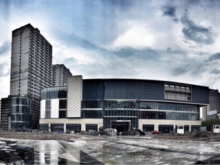 银泰购物中心造的怎么样了?