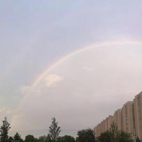 今年夏天第一场彩虹你们有看到吗